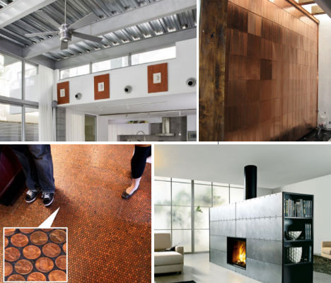Spaces That Shine Steel Copper In Interior Design