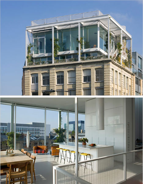 Lofty Living: 11 Modern Additions to Urban Rooftops