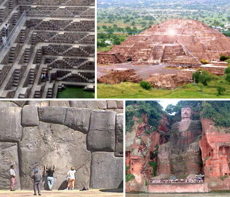 7 Man Made Architectural Wonders of the Ancient World