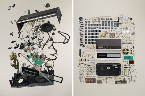 Reverse-Engineered Art via OCD-Style Deconstructions