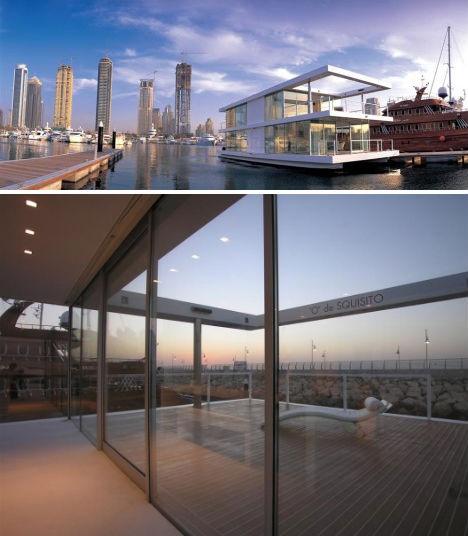 Water Villas: 3 Modern House Boats in Urban Settings