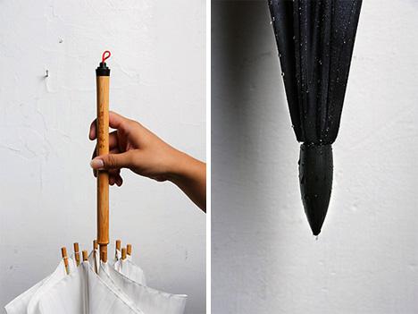 Graffiti Umbrella for Drawing on Walls & Sidewalks