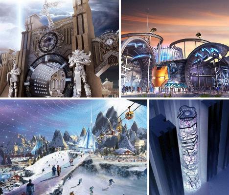 Wild Rides: 12 Theme Park & Coaster Concepts