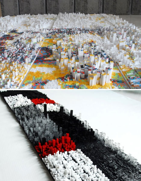 Creative Cartography 15 Artists Transforming Maps Urbanist