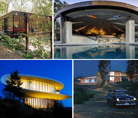 Famous Architecture Houses almost famous: 13 houses from major hollywood films | urbanist
