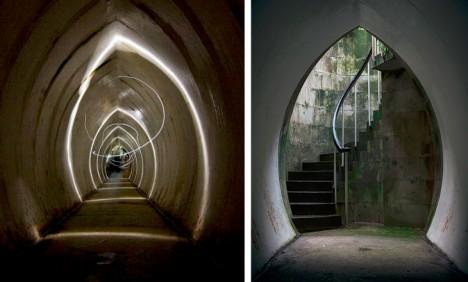 secret tunnel hidden space
