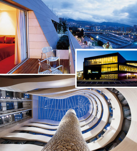 Spectacular spain 15 standout hotels from madrid to ibiza - Restaurante hotel domine bilbao ...