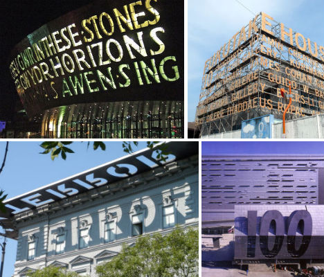 Signs Of The Times 13 Architectural Signage Designs