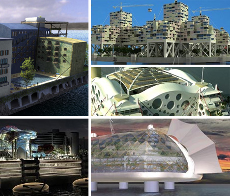 The Future is a Beach: 5 Artificial Floating Island Cities
