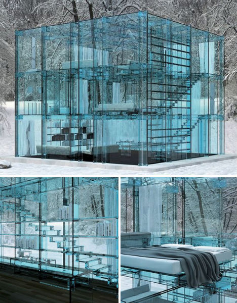 Glass House Architecture: Crystal Castles: 15 Glittering Glass Buildings