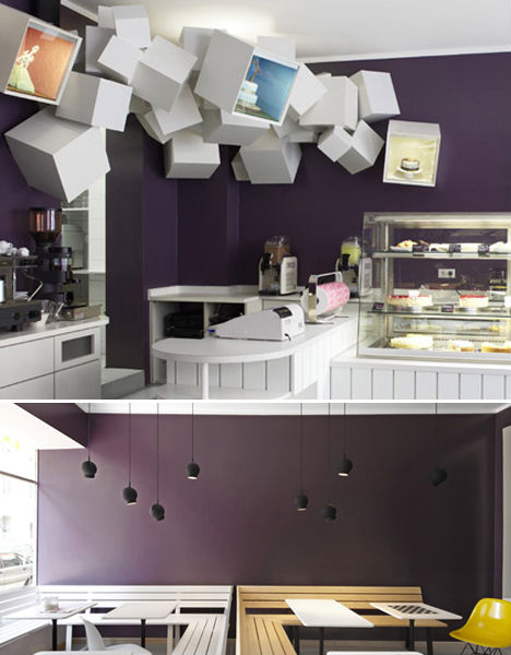 das neue kubitscheck munich germany - Contemporary Cafe Interior