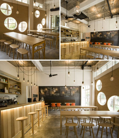 Crafty To Crazy 13 Contemporary Cafes amp Coffee Shops