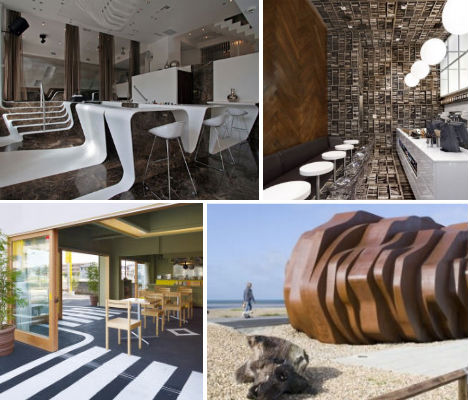 Crafty to crazy 13 contemporary cafes coffee shops for Crazy interior designs