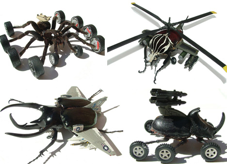 Future Technology Weapons Cyborg Insects The Future