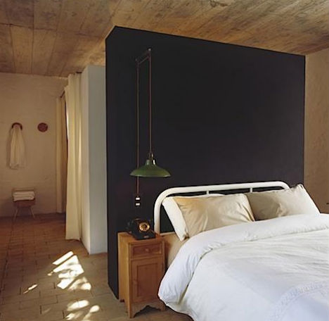 Accent Wall At Maison Couturier
