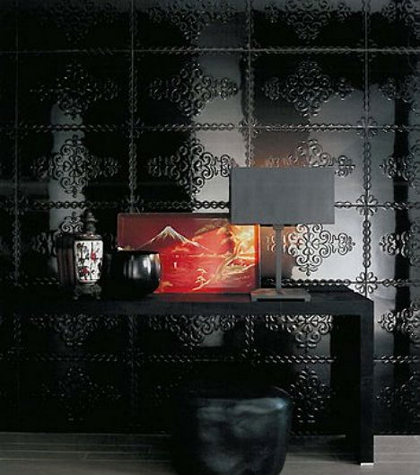 Do S Don Ts For Decorating With Black Tile: Dark & Dramatic Design: 16 Bold Black Room Interiors