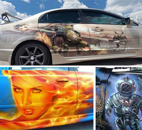 airbrush with fame 32 airbrushed masterpieces urbanist
