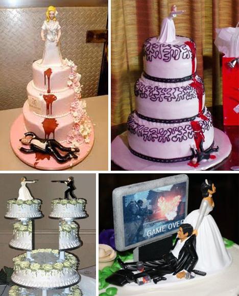 Creepy Wedding Cakes