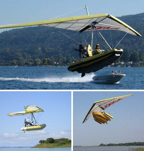 صور لوسائل مواصلات غريبة وعجيبة Flying-Boats
