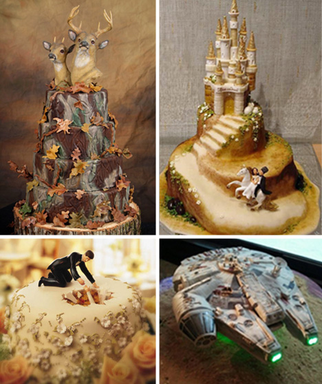 Nontraditional Wedding Cakes For The Creative Couple Urbanist