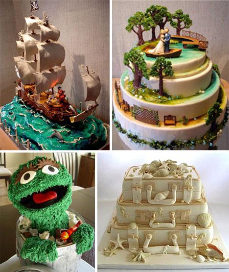 Broad Game Wedding Cake