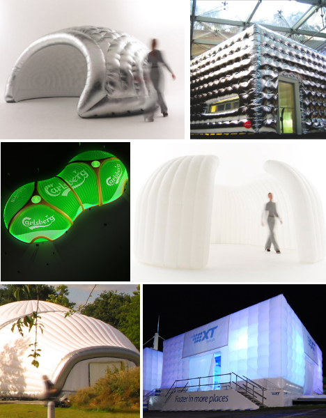 blow up buildings 17 inflatable works of mobile architecture urbanist