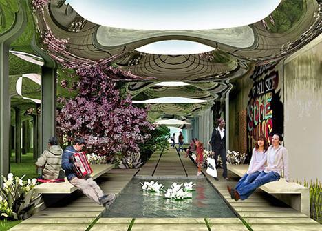 Urban Reuse Goes Underground: Subterranean Community Park