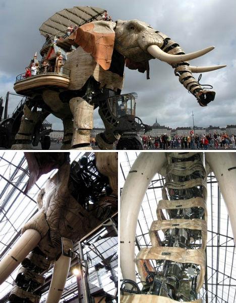 Mechanical Animals: 36 Steampunk Sculptures & Robots