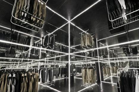 Disorienting Pop Up Shop Multiplies With Mirrors Amp Lights