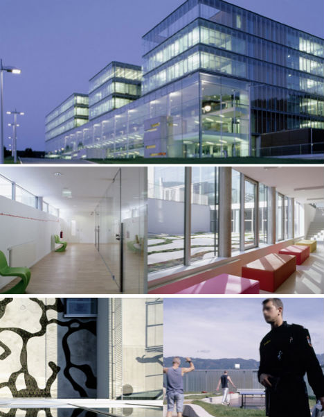 Not just jail 12 modern futuristic fascinating prisons for Jail architect