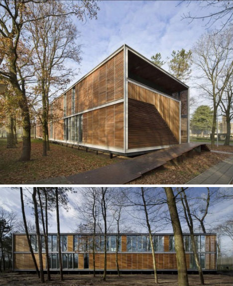 Not just jail 12 modern futuristic fascinating prisons - Pavillon residentiel moderne gurney architecte ...