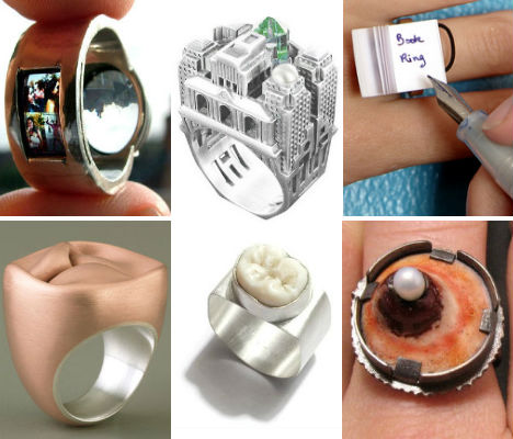 SAEBA.COM: Radical Rings: 31 One-of-a-Kind Ring Designs & Ideas