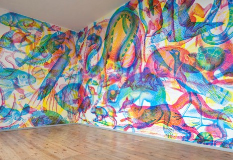 rgb mural rooms