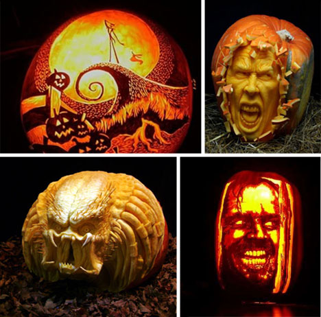 Creative Carving 43 Bright And Beautiful Jack O Lanterns