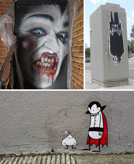 38 Graffiti Monsters That Go Beyond Halloween Horror Urbanist