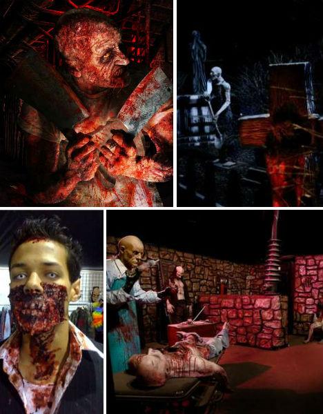 Halloween horror america s 13 scariest haunted houses for 13 floor haunted house pennsylvania