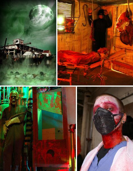 Halloween Horror America S 13 Scariest Haunted Houses Urbanist