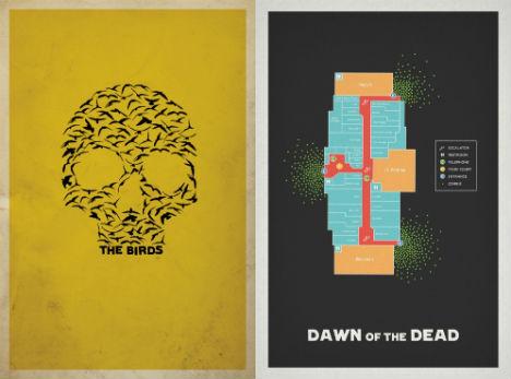 13 modern minimalist movie posters by matt owen urbanist