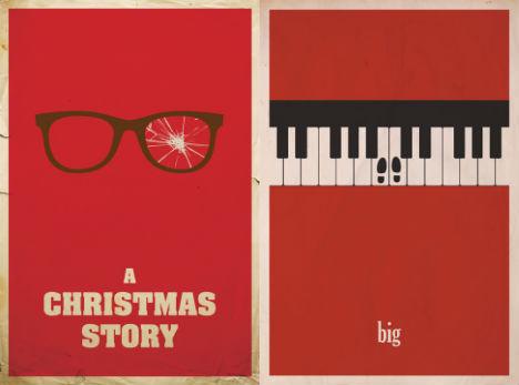 13 Modern Minimalist Movie Posters By Matt Owen