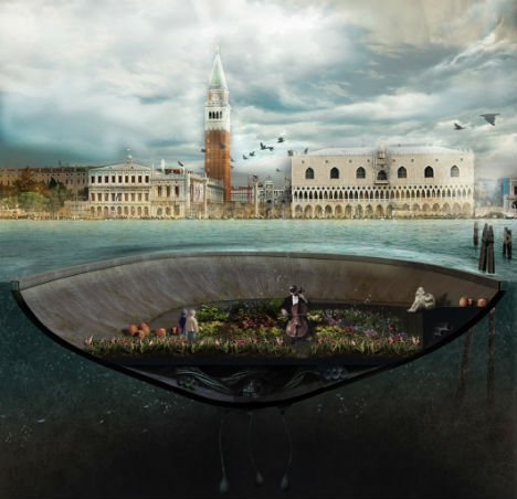 Concrete Islands? An Incredible Vision for Venice