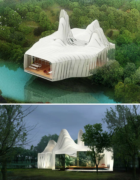 Most futuristic house design in the world home design for Most modern house in the world