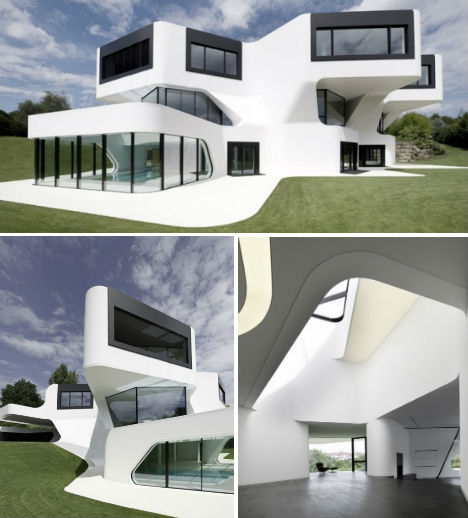 House of the future 12 ultra modern home designs urbanist for Futuristic home designs