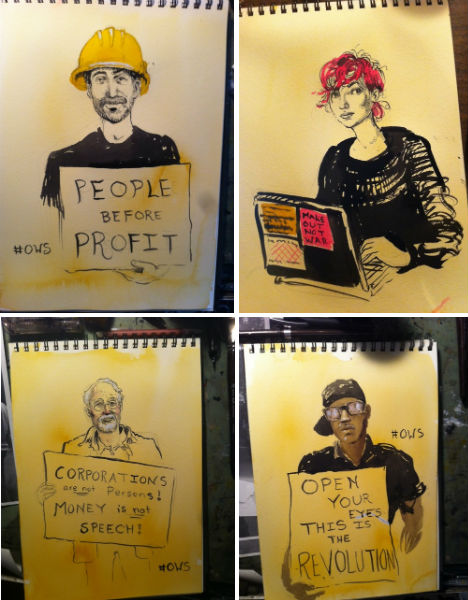 Occupy the Art World: 21 OWS-Inspired Designs & Graphics | Urbanist