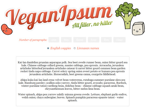 Requires a good amount of meat on its bones the bacon ipsum generator