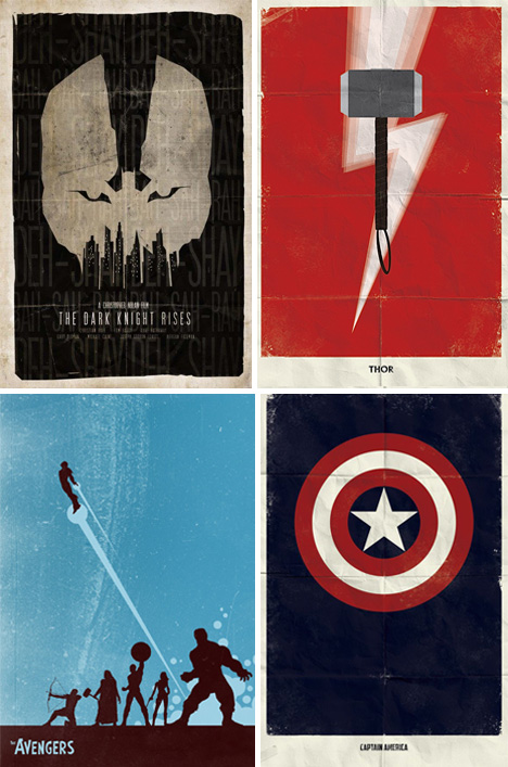 Movie Poster Minimalism: 41 Stripped Down Examples