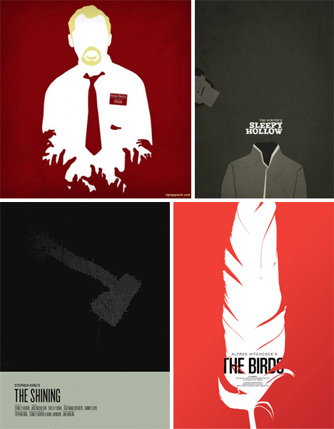 Movie Poster Minimalism 41 Stripped Down Examples Urbanist