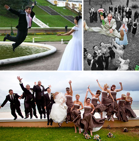 Brain-Eating Groomsmen & 27 Other Creative Wedding Photos | Urbanist