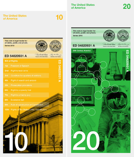 dollar redesign project When travis purrington, an idaho-born designer, embarked in 2011 on a project to redesign the dollar as part of his master's degree, he paid a visit to the swiss.