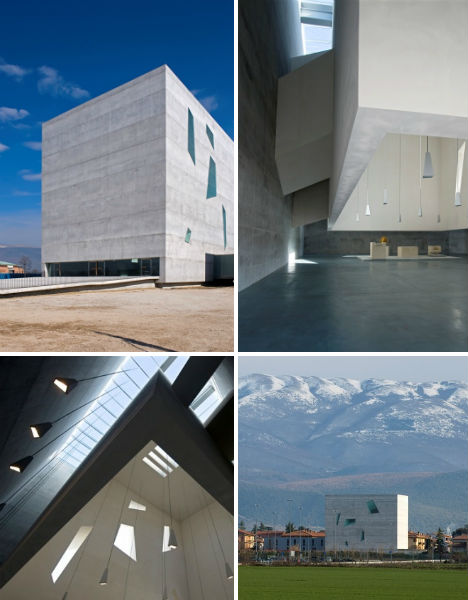 Modern religion 13 contemporary churches chapels urbanist for Architecture firms in italy
