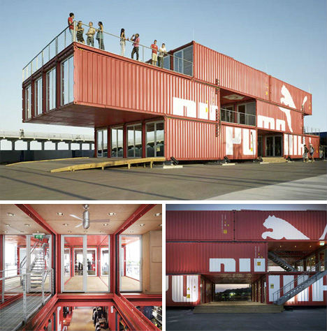 Top pop up shops 14 temporary retail stores urbanist for Habiter container